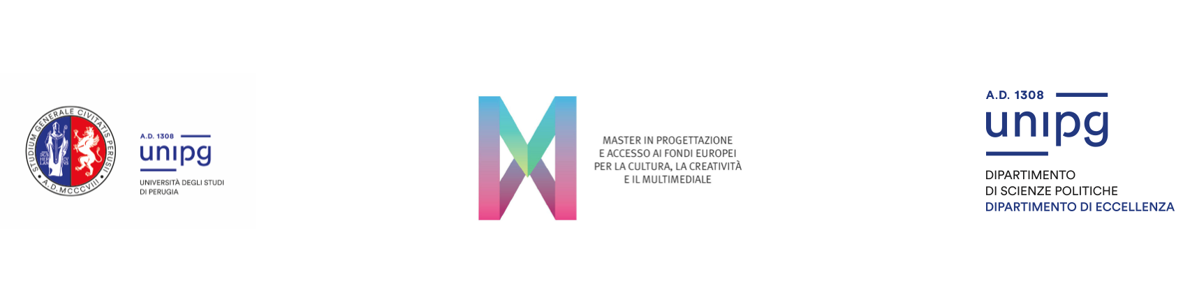 Master in Progettazione e accesso ai fondi europei per la Cultura, la Creatività e il Multimediale
